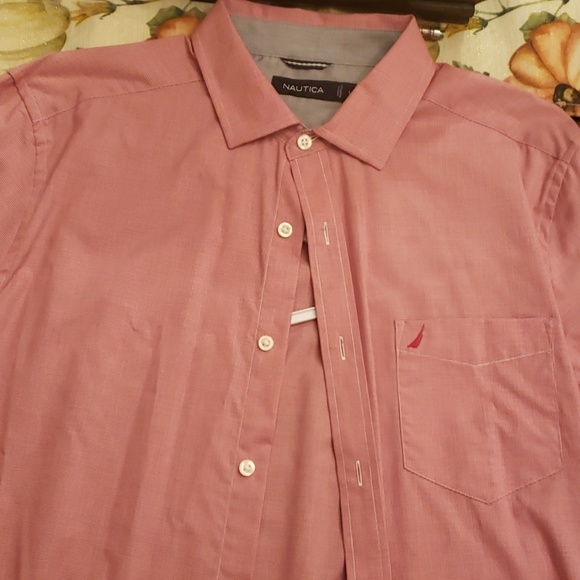 Nautica Other - Nautica Light Red button down.